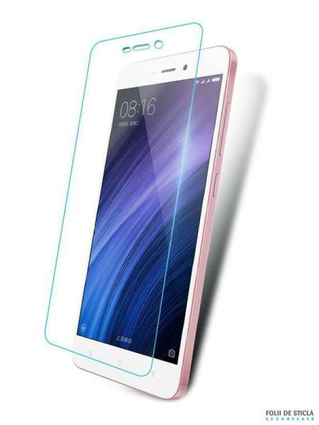 Folie din sticla securizata pentru Xiaomi Redmi 4