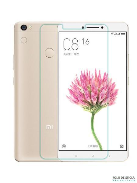 Folie din sticla securizata pentru Xiaomi Mi Max 2