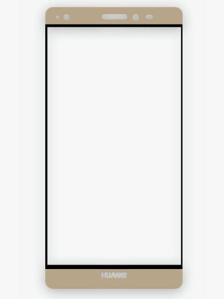 Folie Fullscreen 2.5D din sticla securizata pentru Huawei Mate S GOLD