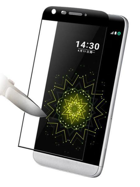 Folie curbată 3D din sticlă securizată pentru LG G5 NEGRU