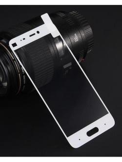 Folie Fullscreen 2.5D din sticla securizata pentru Xiaomi Mi 5 ALB