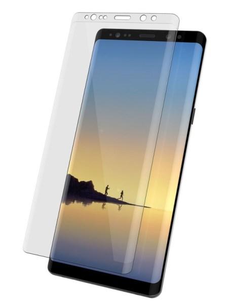 Folie curbată 3D din sticlă securizată pentru Samsung Galaxy Note9 TRANSPARENT - Full cover