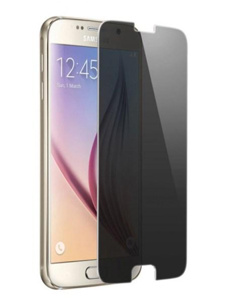 Folie din sticla securizata pentru Samsung Galaxy S6 PRIVACY