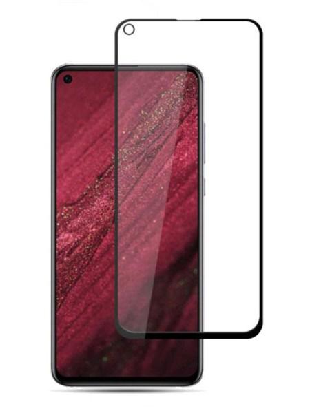 Folie Fullscreen 9D din sticla securizata pentru Huawei Honor View 20 - FULL GLUE