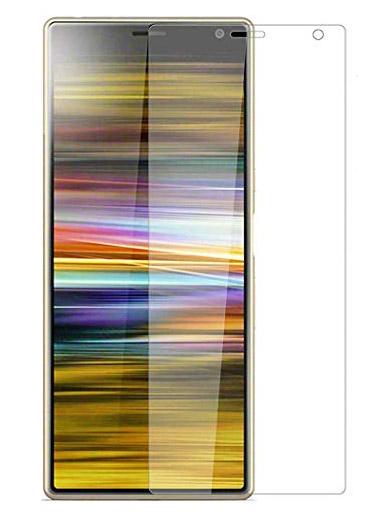 Folie curbată 3D din sticlă securizată pentru Sony Xperia 10 Plus TRANSPARENT (full cover)