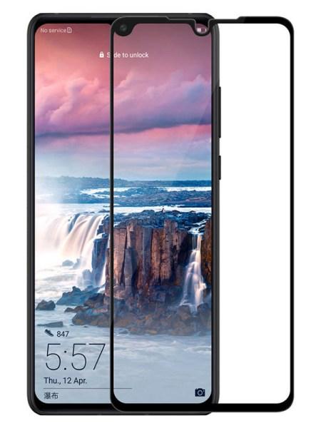Folie Fullscreen 111D din sticla securizata pentru Huawei P30 - FULL GLUE
