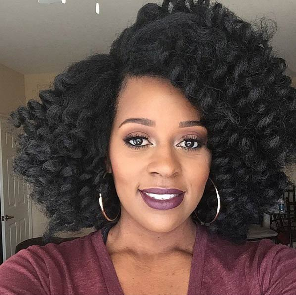 41 Chic Crochet Braid Hairstyles For Black Hair Page 11