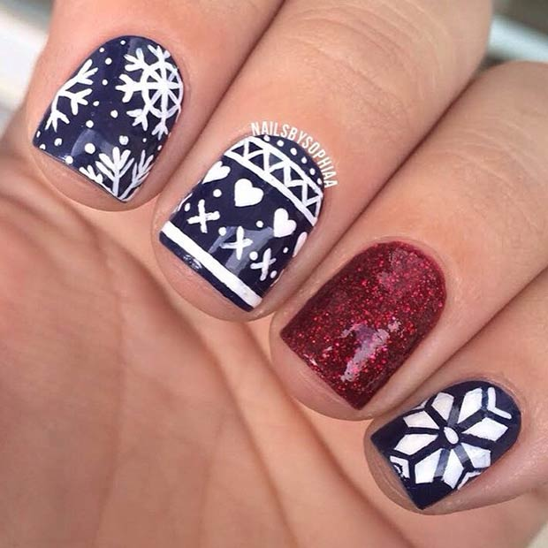 5 Sweater Inspired Nails