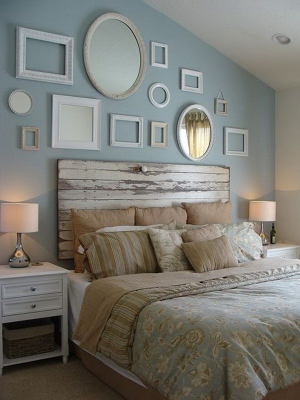 Trying to find ways to spend less is a necessity if you are on a tight budget. 20 Awesome Headboard Wall Decoration Ideas – Page 6