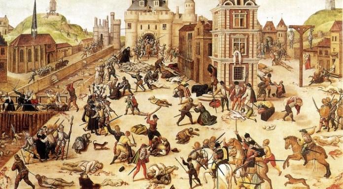 Tusinder af protestanter blev dræbt natten før Bartholomæusdagen i Frankrig
