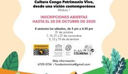 Participa de esta jornada académica y conoce más de la cultura Congo