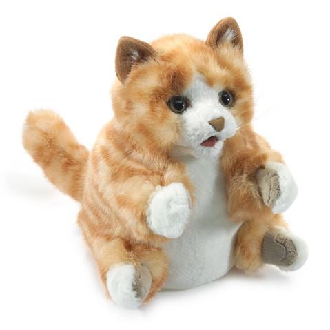 Orange Tabby Kitten Hand Puppet  |  Folkmanis