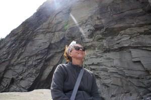 julie-lit-at-fossil-beach