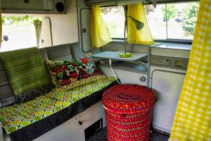 our vanagon interior
