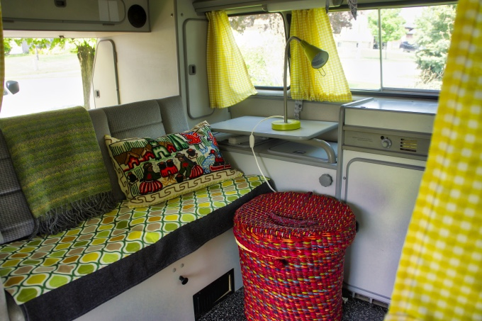 our vanagon interior