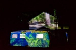 Shangri-La video projection