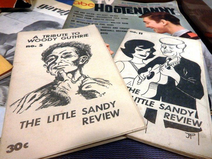 Memorabilia from the Jean Ritchie collection