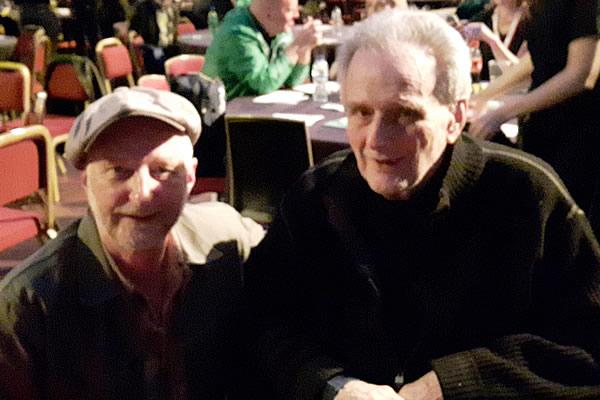Billy Bragg and Tom Paley
