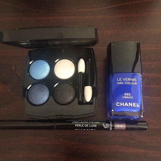 make up chanel blue rhythm