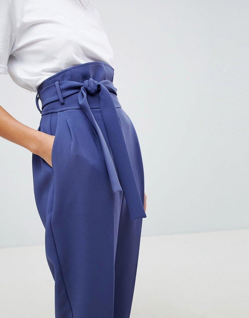pantalone-vita-alta-cintura-fiocco-viola
