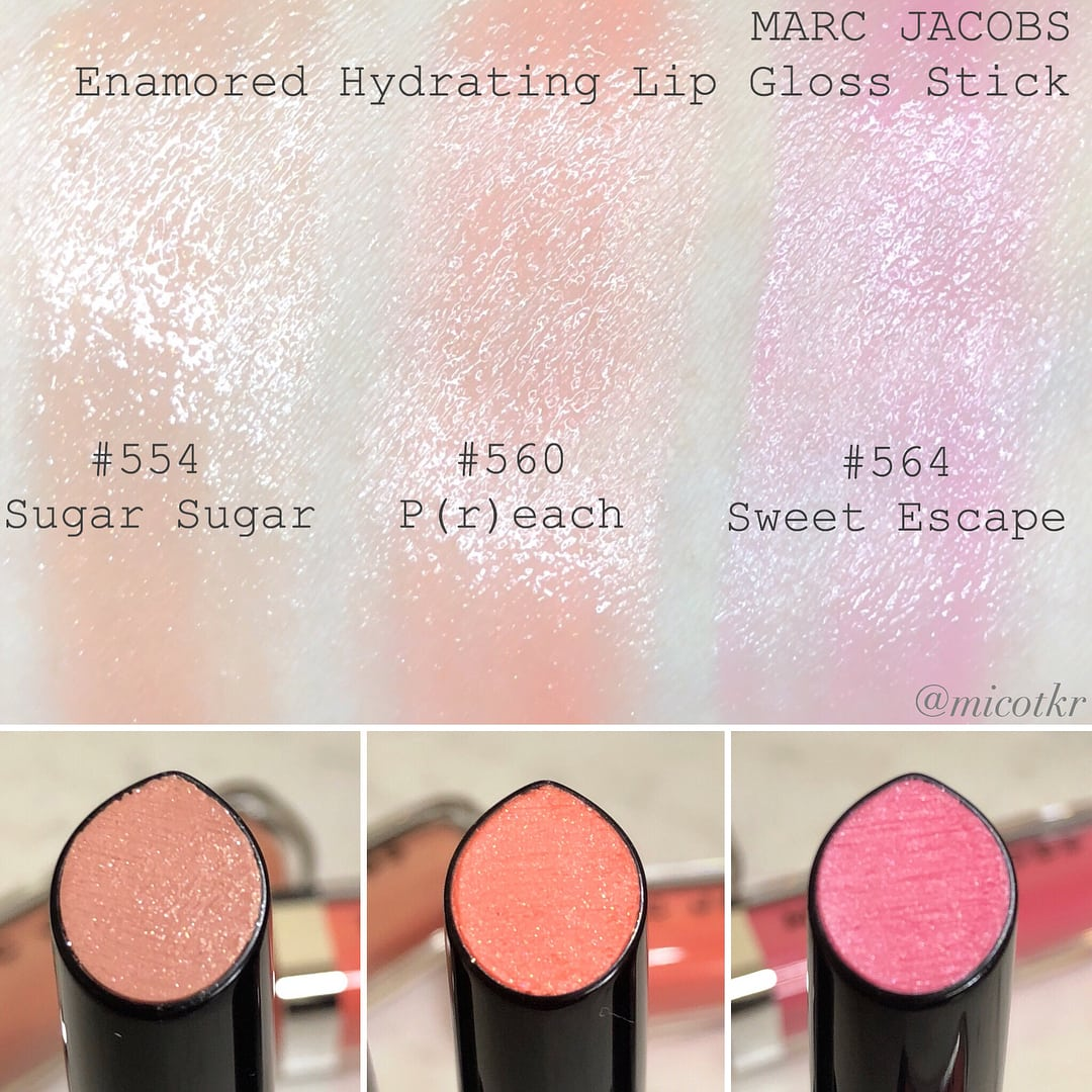 Marc-Jacobs-Enamored-Gloss-Stick-Idratante-Swatch