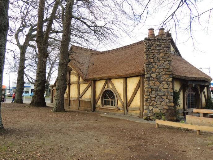 Überirdisches Hobbit Haus in Matamata