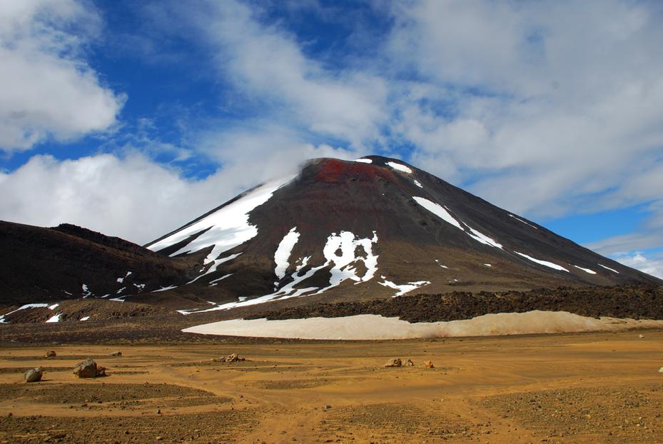 Mount Ngauruhoe aka Mount Doom aus der Herr der Ringe