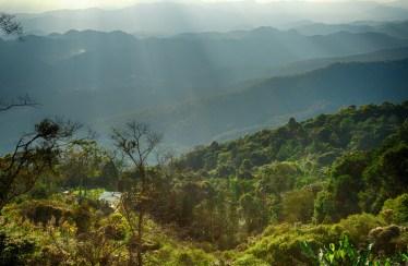 aussicht im doi suthep national park