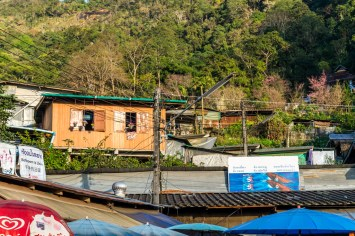 hmong village mountain village bergdorf chiang mai doi suthep pui nationalpark