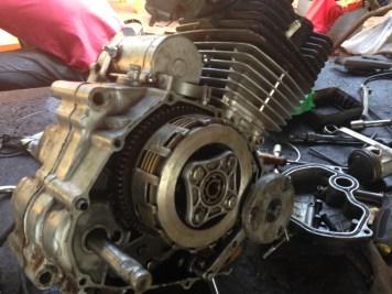 Dieser Motor bekommt eine neue Dichtung