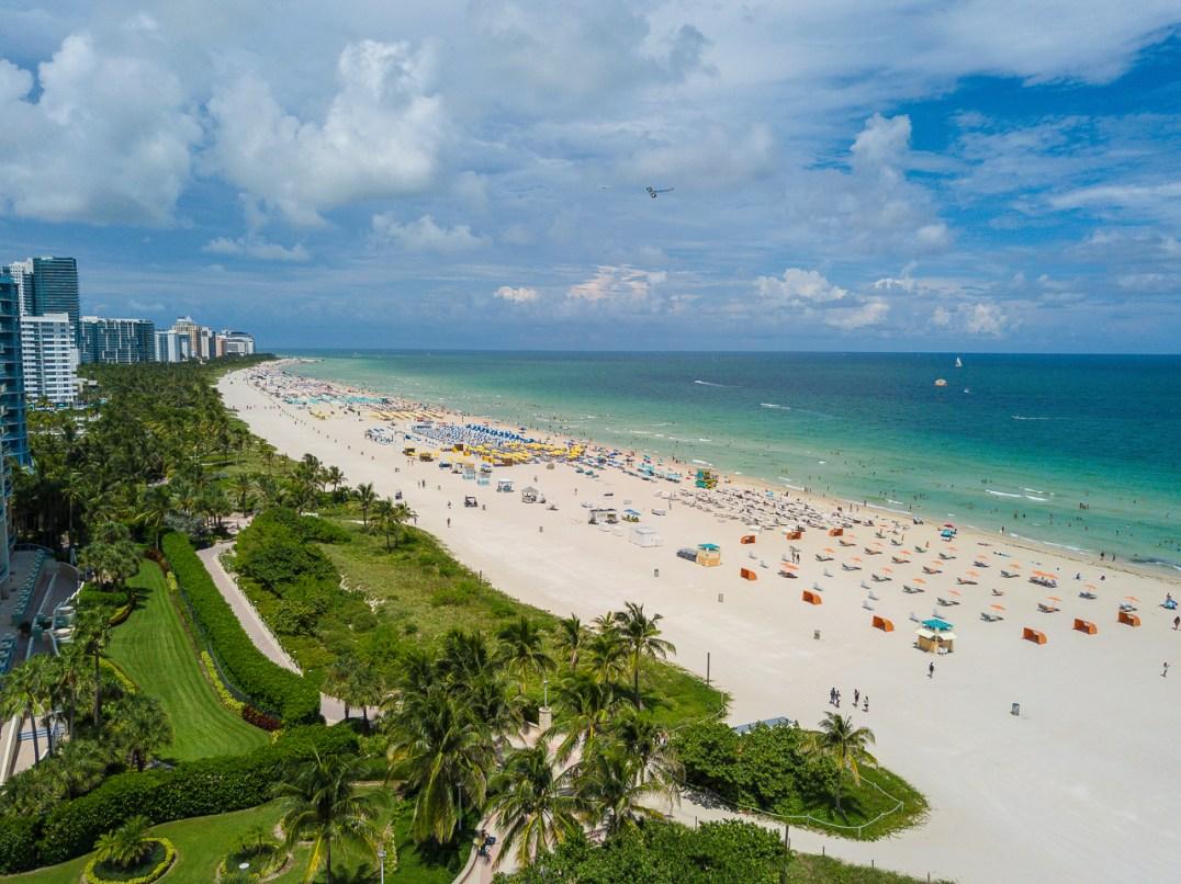 miami beach strand drone 1