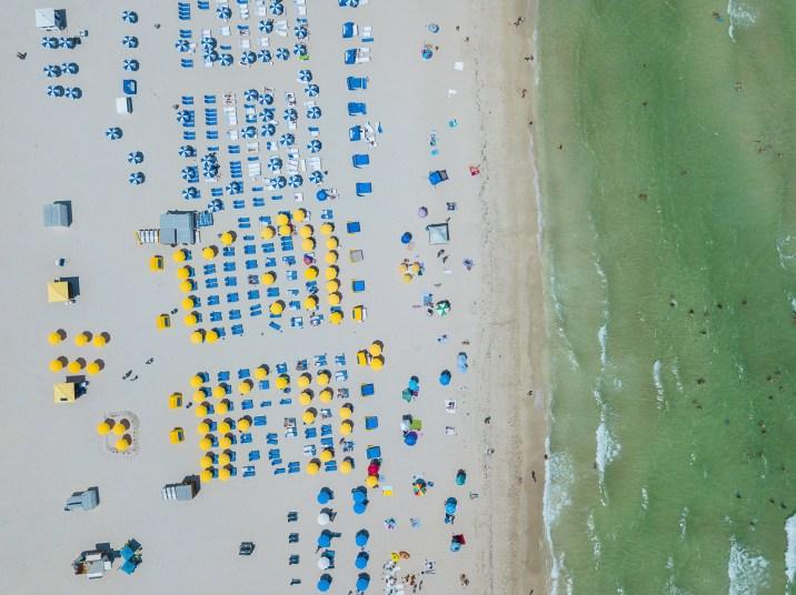 miami beach strand drone 4