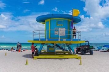 miami beach strand hütte 2