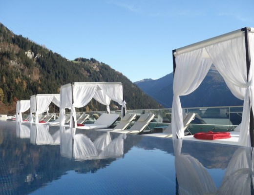 cabanas berge pool stockresort