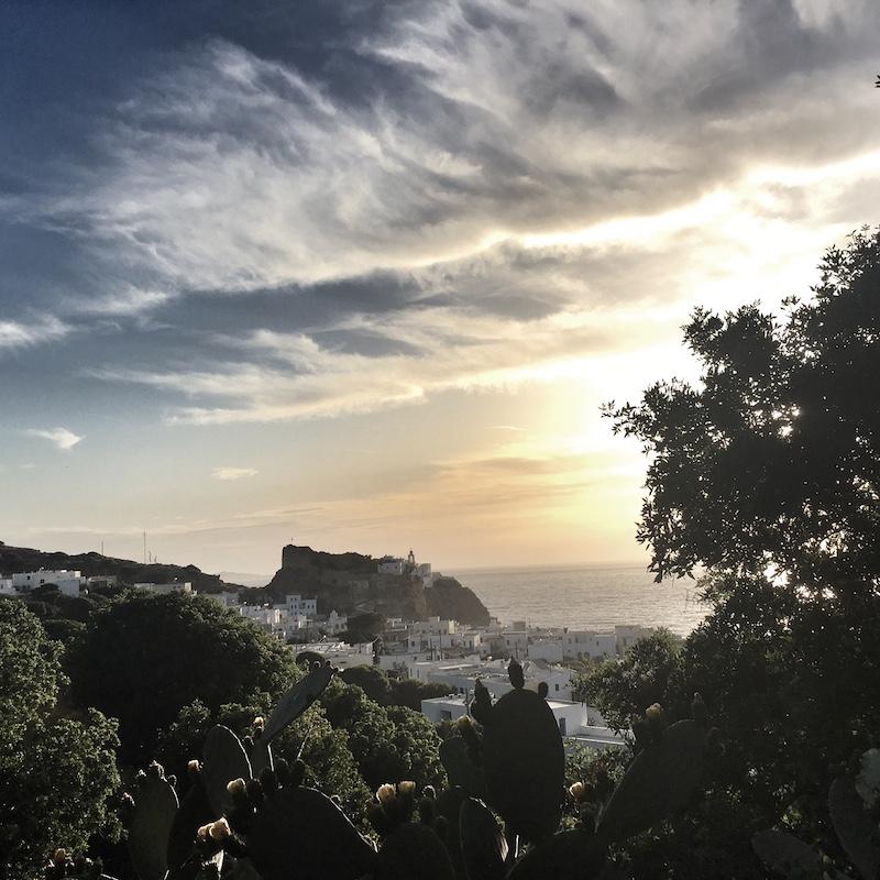 Insel Nisyros Sunset