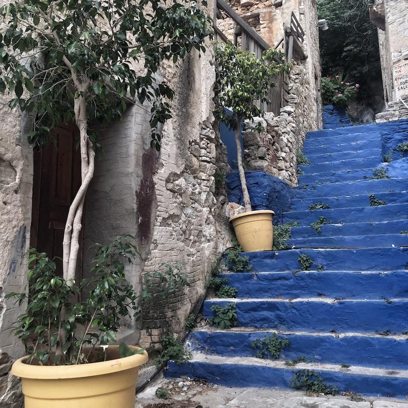 Treppen Simi Greece