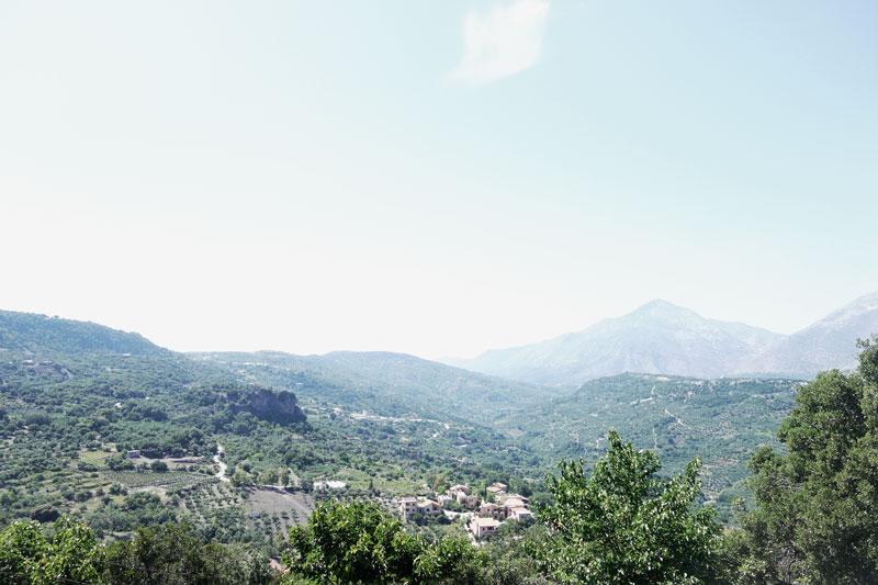 Natur-Berge-Enagron-Kreta
