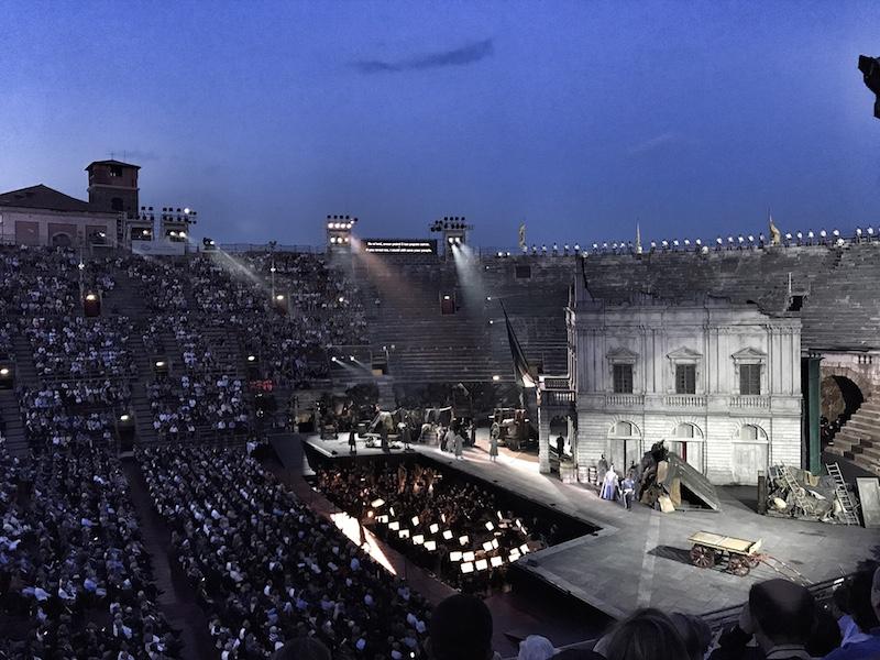 Arena di Verona Nabucco Verdi Oper Sommer 2017