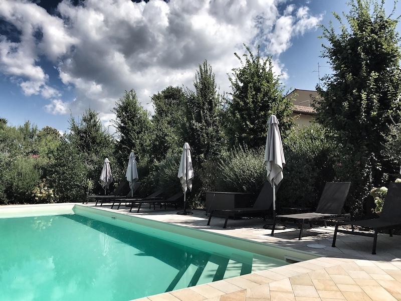 Bed Breakfast mit Pool Verona