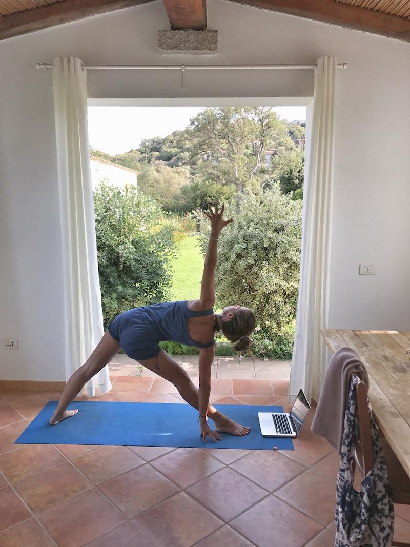 Yoga im Urlaub Sardinien 2