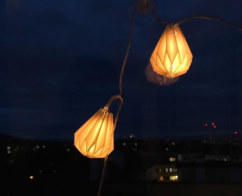 lampion nacht