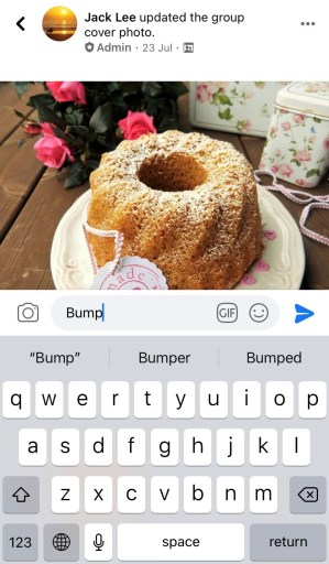 How to use bump on Facebook