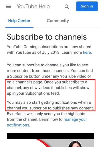 What does it mean when you subscribe to a YouTube channel?