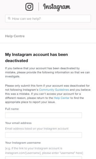 Your Account Has Been Temporarily Locked Instagram