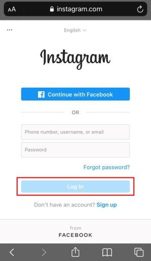 Delete additional Instagram account
