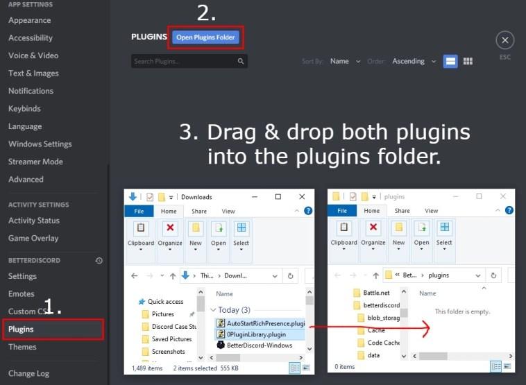 Plugins Folder BetterDiscord