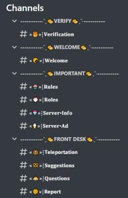 Café Discord server template