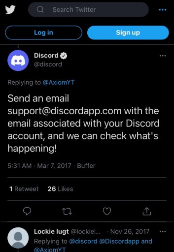 Discord email