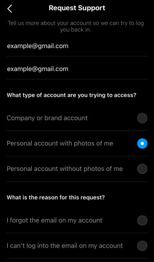 How to reset your Instagram password without phone number