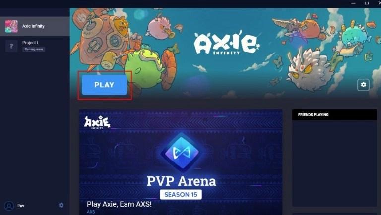 Play Axie Infinity